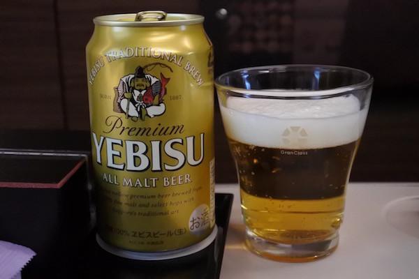 ビールはエビス