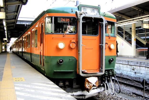 115系-高崎駅2008.2.13