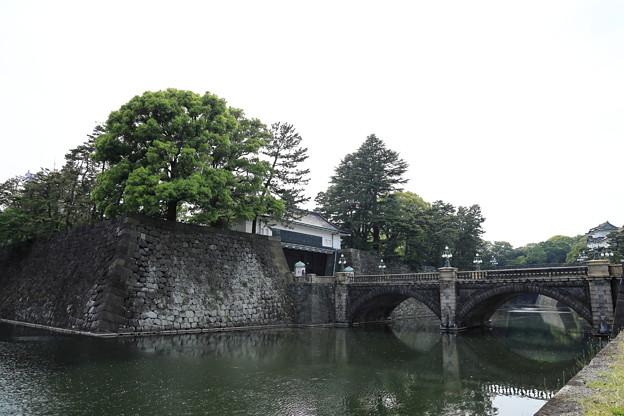 5月3日の皇居 二重橋1
