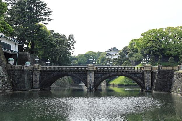 5月3日の皇居 二重橋2