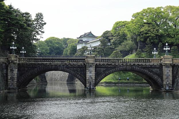 5月3日の皇居 二重橋3