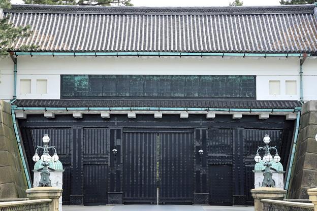 5月3日の皇居 正門