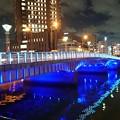 写真: 夜の橋