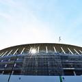 写真: 新国立競技場進捗