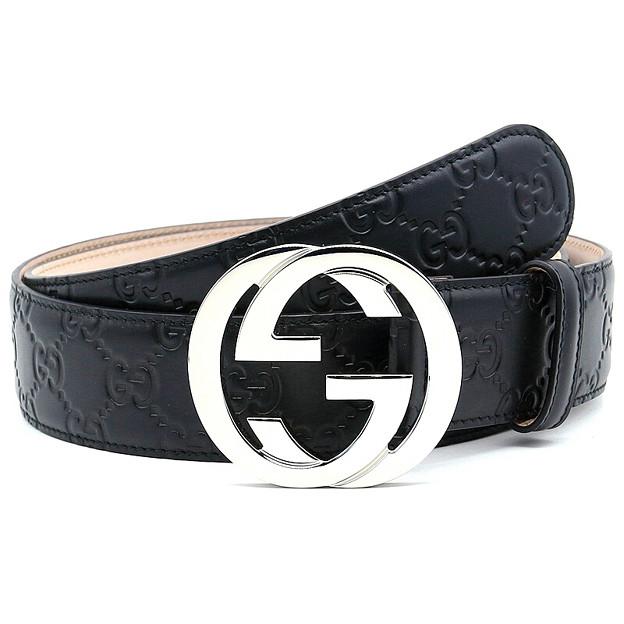 グッチ ベルト メンズ レディース Leather belt 紳士ベルト クラシック GG ベルト 411924 男女兼用 2018新品