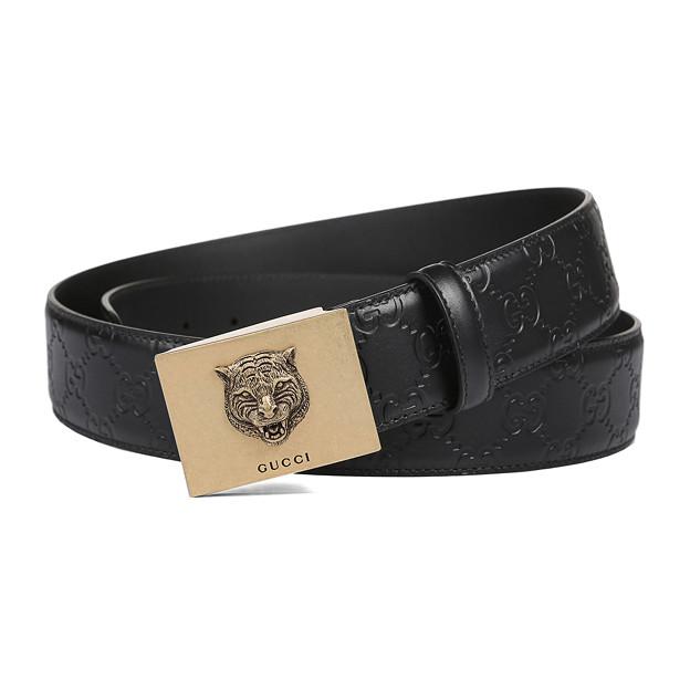 グッチ ベルト メンズ レディースLeather belt 紳士ベルト クラシック GG ベルト 男女兼用 429021 新品