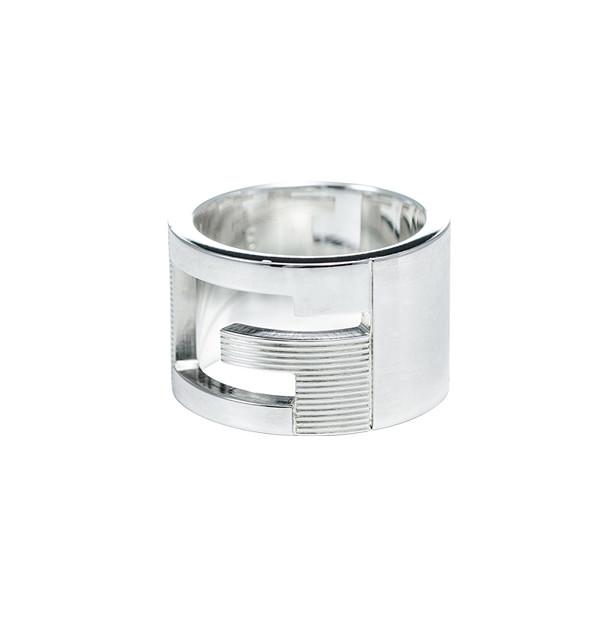 グッチ GUCCI SV925 リング 指輪 シルバー925 Gマーク アクセサリー GGリング 032666-09840-8106-08 レディース メンズ