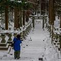 写真: 上色見熊野座神社♪