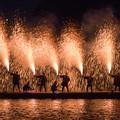 写真: 川上峡花火大会♪