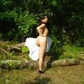 写真: 自然の中で