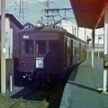 写真: チョコレート色の電車