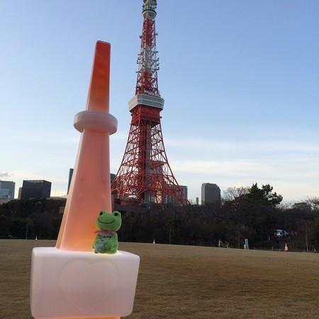 東京タワーに登ったよ