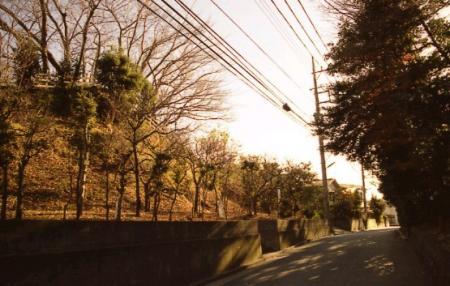 旧東海道・一里塚跡