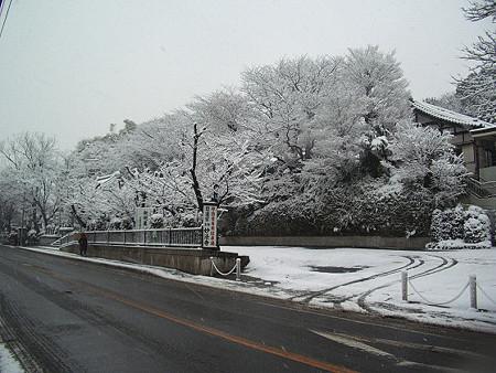 雪景色 妙法寺 01