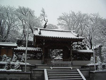 雪景色 妙法寺 02