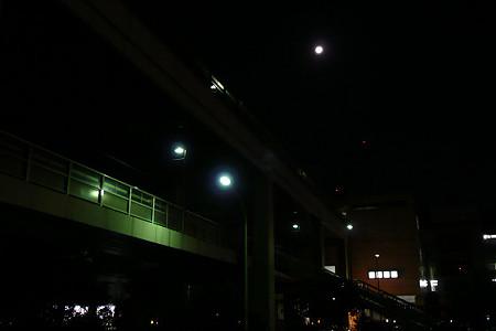 月夜の東戸塚駅