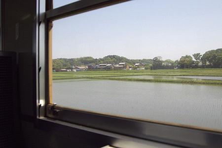 成田線 車窓より