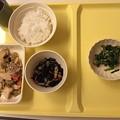 写真: 入院晩御飯
