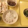 Photos: 入院晩御飯