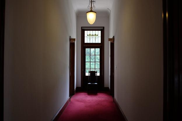 萬翠荘の廊下