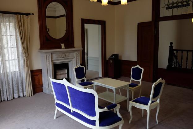 萬翠荘の迎賓室