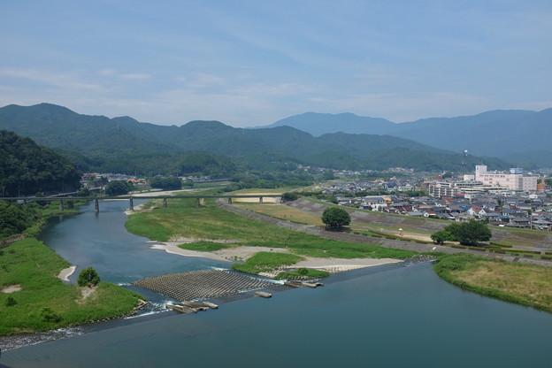 大洲市を流れる肱川