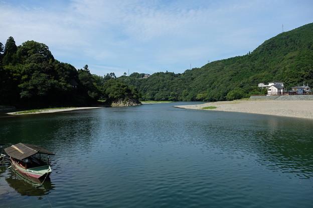 大洲を流れる肱川