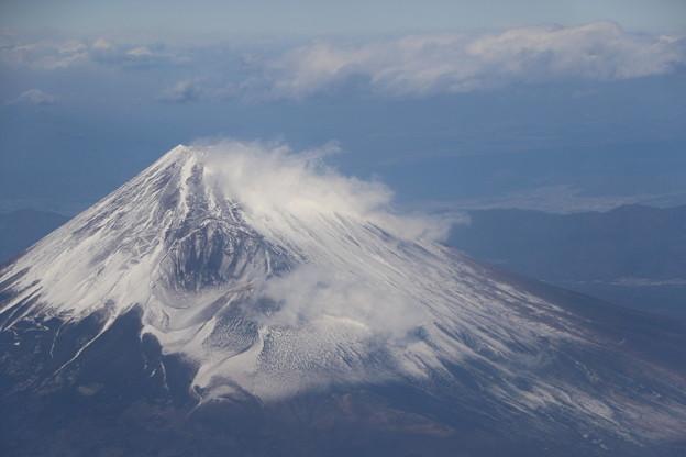 Photos: 空撮の富士山