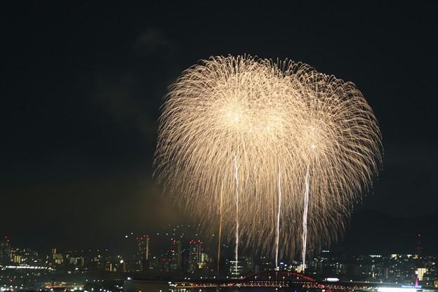 写真: みなと神戸海上花火大会