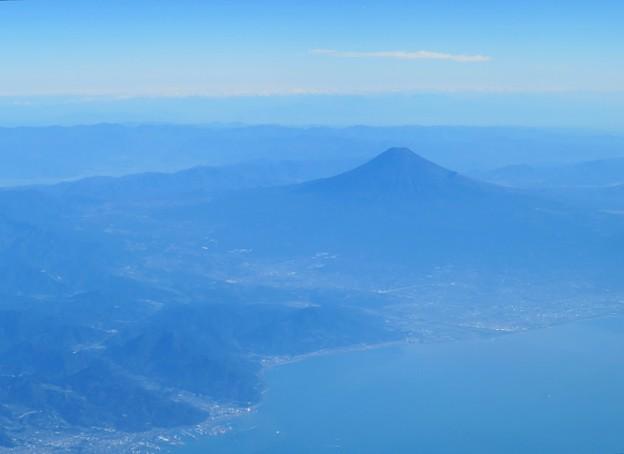 空撮の富士山