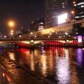 Photos: 中之島公園・水晶橋の夜景