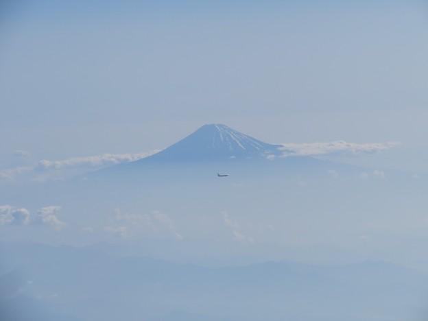 富士山と飛行機