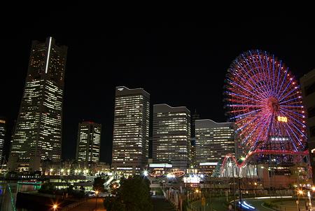 横浜・みなとみらい夜景