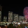写真: 横浜・みなとみらい夜景