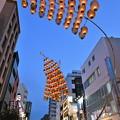 写真: 浅草で秋田竿燈2