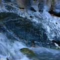Photos: 367 石灰山口の青い川