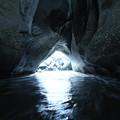 写真: 340 相田浜の海食洞