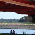 954 久慈川河口 はましょうの堤防