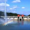 140 十王ダムの噴水
