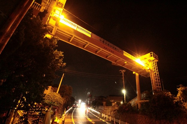 Photos: 810 河原子歩道橋 昇開式可動橋 日立市