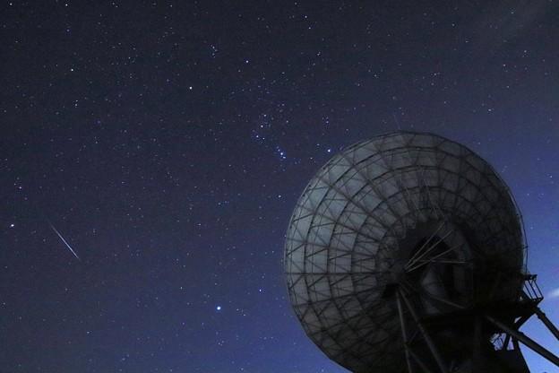 150 十王のパラボラアンテナ 国立天文台日立局