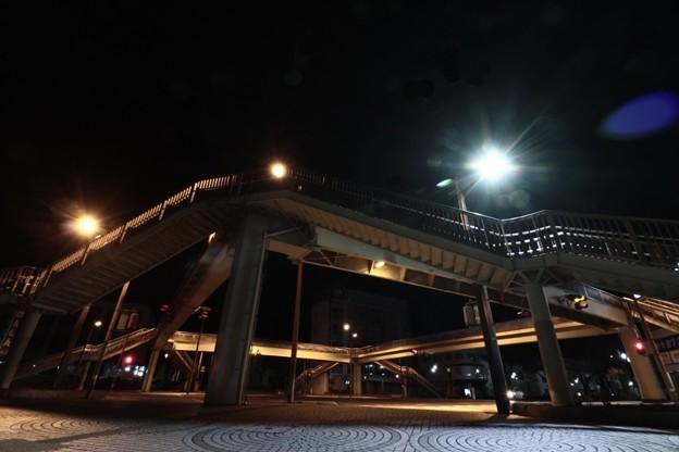 Photos: 643 スクランブル歩道橋 日立市