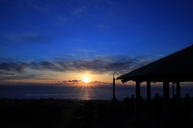 Photos: 552 助川山 山頂 初日の出