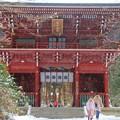 写真: 427 御岩神社 大仁王門