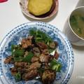Photos: サバ缶とナス、ピーマンの炒め物♪
