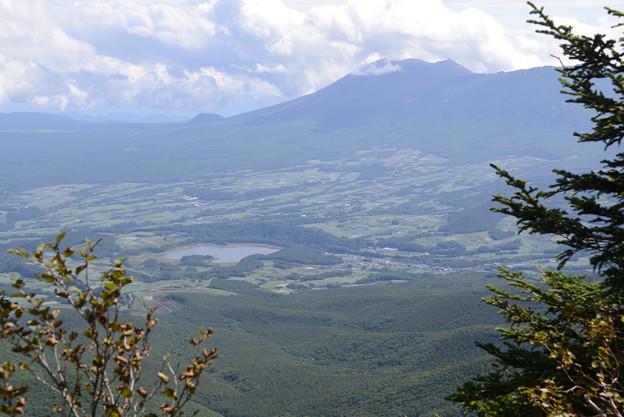 浅間と田代湖