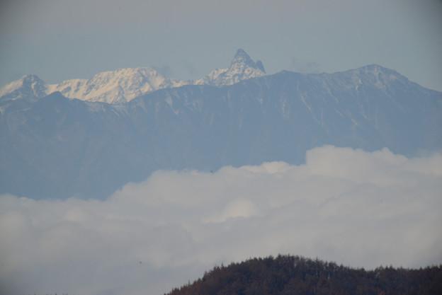 11月5日の槍ヶ岳