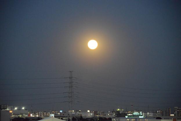 満月 月齢15.3