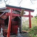 写真: 27.11.16尾島崎護防稲荷神社