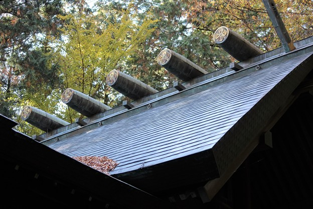 写真: 27.11.16神明社(白石)本殿